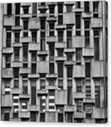 Concrete Geometry  Canvas Print