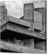 Concrete - National Theatre - London Canvas Print