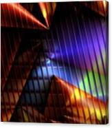 Cone Convergence Canvas Print