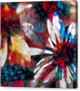 Cone Flower Fantasia I Canvas Print