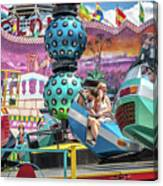 Coney Island Amusement Ride Canvas Print