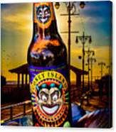 Coney Island Beer Canvas Print