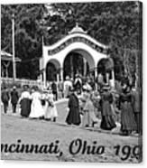 Coney Island In Cincinnati 1908 Canvas Print