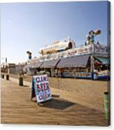 Coney Island Memories 7 Canvas Print