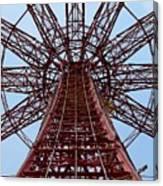 Coney Island Parachute Jump 01 Canvas Print