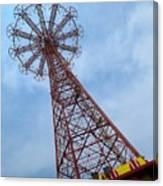 Coney Island Parachute Jump 03 Canvas Print
