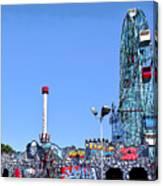 Coney Island's Astroland  Canvas Print