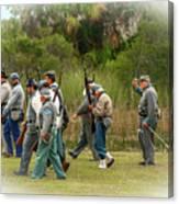Confederate Advance Canvas Print