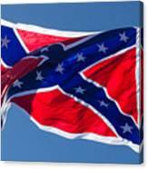 Confederate Flag 4 Canvas Print