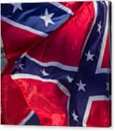 Confederate Flag 5 Canvas Print