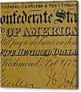 Confederate States Canvas Print