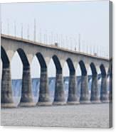 Confederation Bridge 5511 Canvas Print