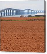 Confederation Bridge 5531 Canvas Print