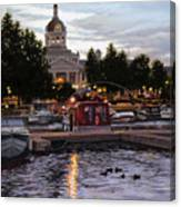 Confederation Park Canvas Print