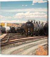 Congested Tracks Canvas Print