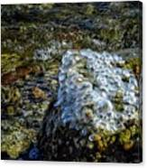 Conglomerate Ice Canvas Print
