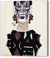 Congo Lady Canvas Print