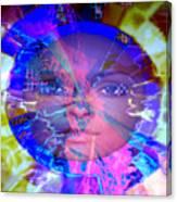 Congo Queen Mandala Canvas Print