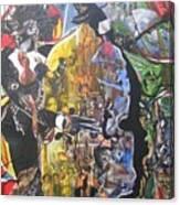 Conjure Bass Le Femme Canvas Print