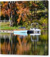 Connect Lake In The Fall Canvas Print