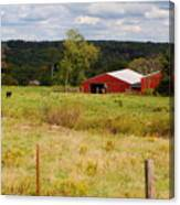 Connecticut Farm Canvas Print