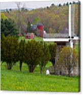 Connecticut Windmill. Canvas Print