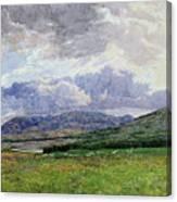Connemara Mountains Canvas Print