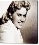 Connie Stevens, Vintage Actress Canvas Print