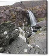 Connor Pass Waterfall Canvas Print