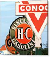Conoco Sign 081117 Canvas Print