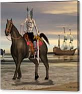 Conquistador Canvas Print
