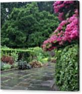 Conservatory Rain Canvas Print
