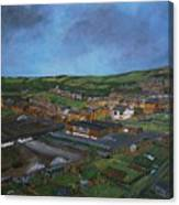 Consett, Blackhill, County Durham Canvas Print