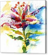 Consider The Lily Canvas Print