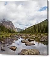 Consolation Lake Banff Canvas Print