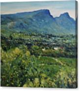 Constantia Valley Cape Town South Africa 2017 Canvas Print