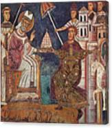 Constantine I (c280-337) Canvas Print