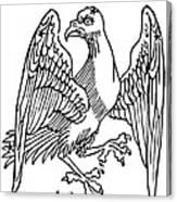 Constellation: Aquila Canvas Print