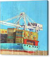 Container Jockey Canvas Print