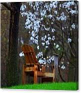 Contemplation Chair Canvas Print