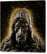 Contemplative Christ Canvas Print