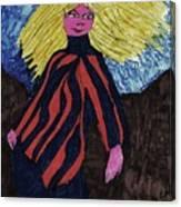 Contemporary Look Canvas Print