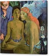 Contes Barbares Canvas Print