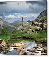 Continental Divide Above Twin Lakes 4 - Weminuche Wilderness Canvas Print