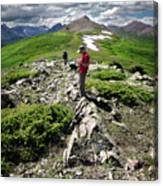 Continental Divide Above Twin Lakes 7 - Weminuche Wilderness Canvas Print