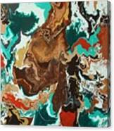 Continental Fusion Canvas Print
