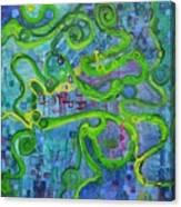 Contour Canvas Print