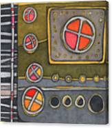 Control Panel  Canvas Print