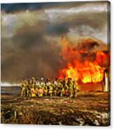 Controlled Burn Canvas Print