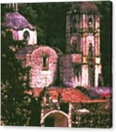 Convent Cezzanne Style Canvas Print